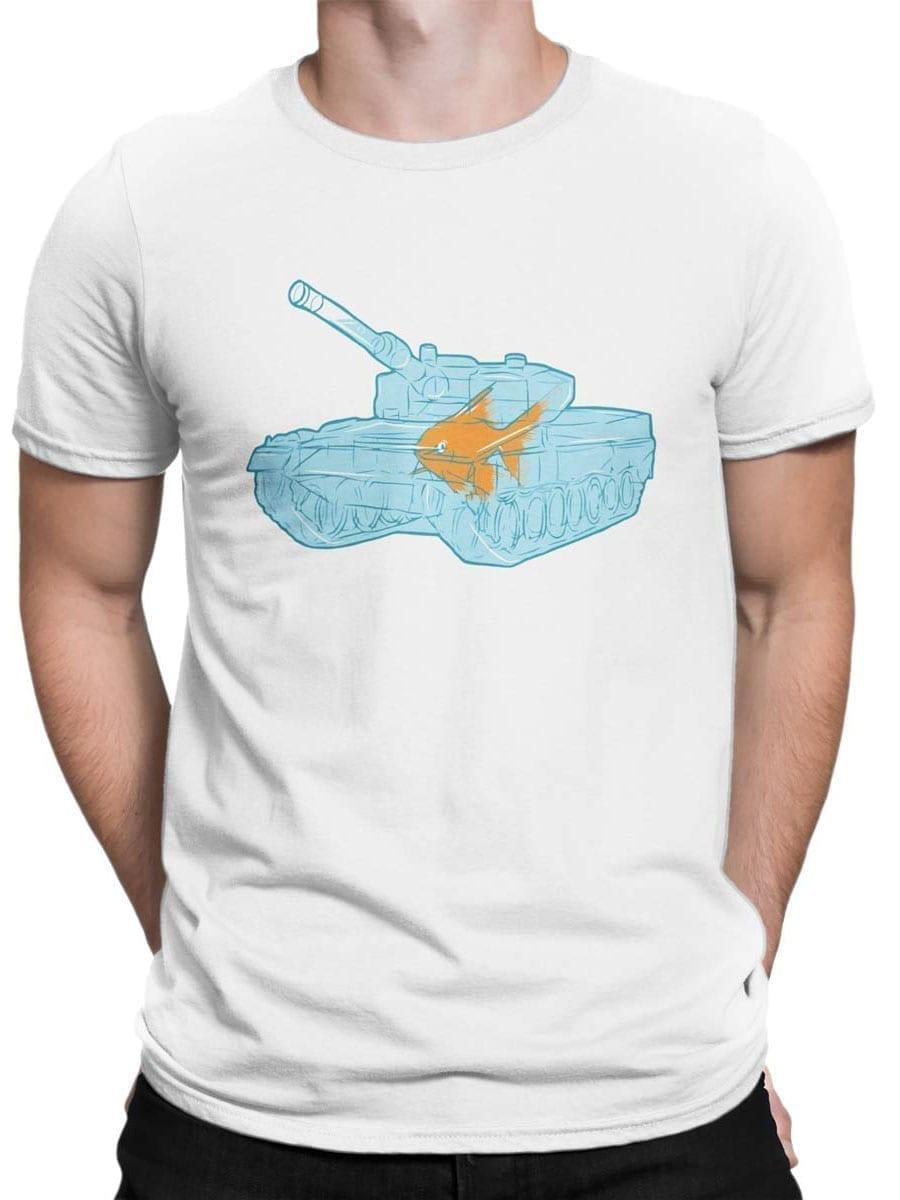 1986 Fish Warrior T Shirt Front Man