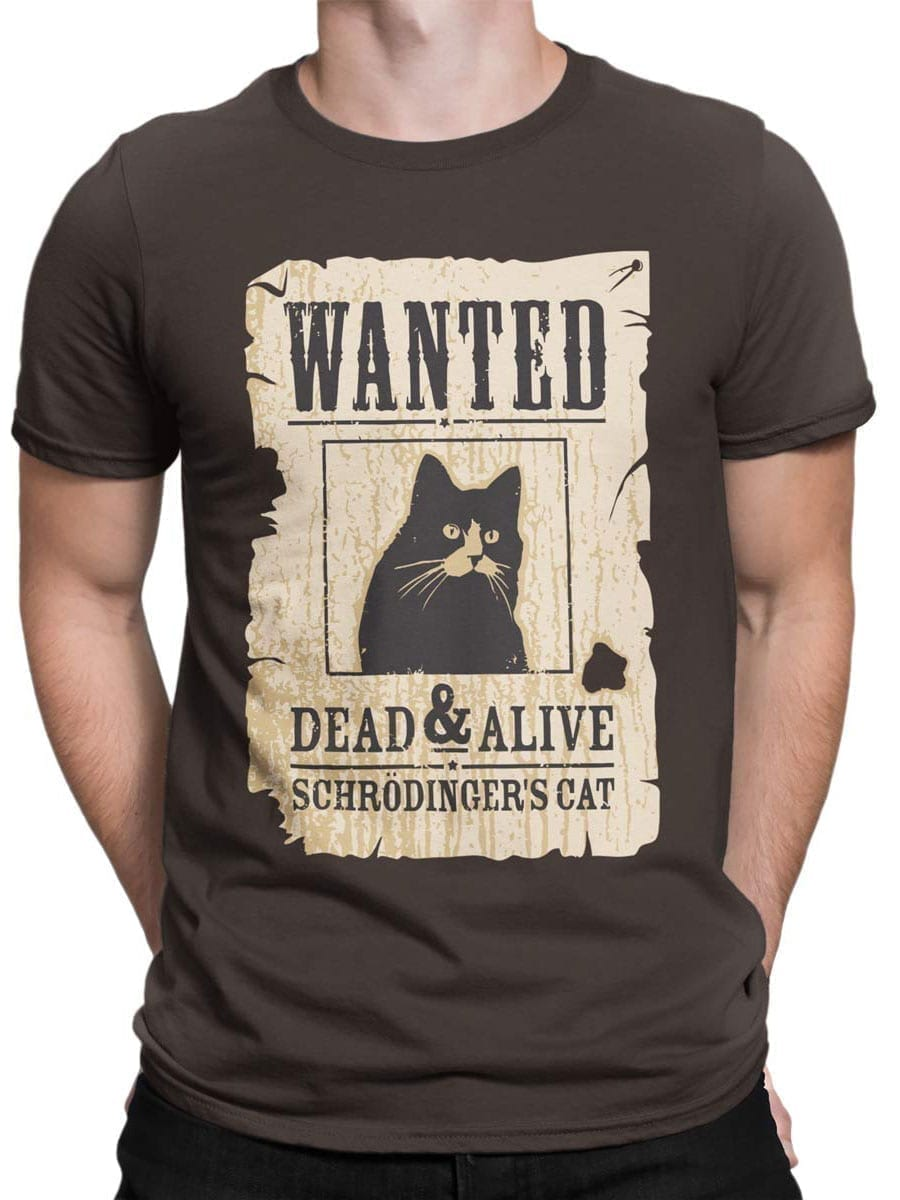1991 Wanted Cat T Shirt Front Man