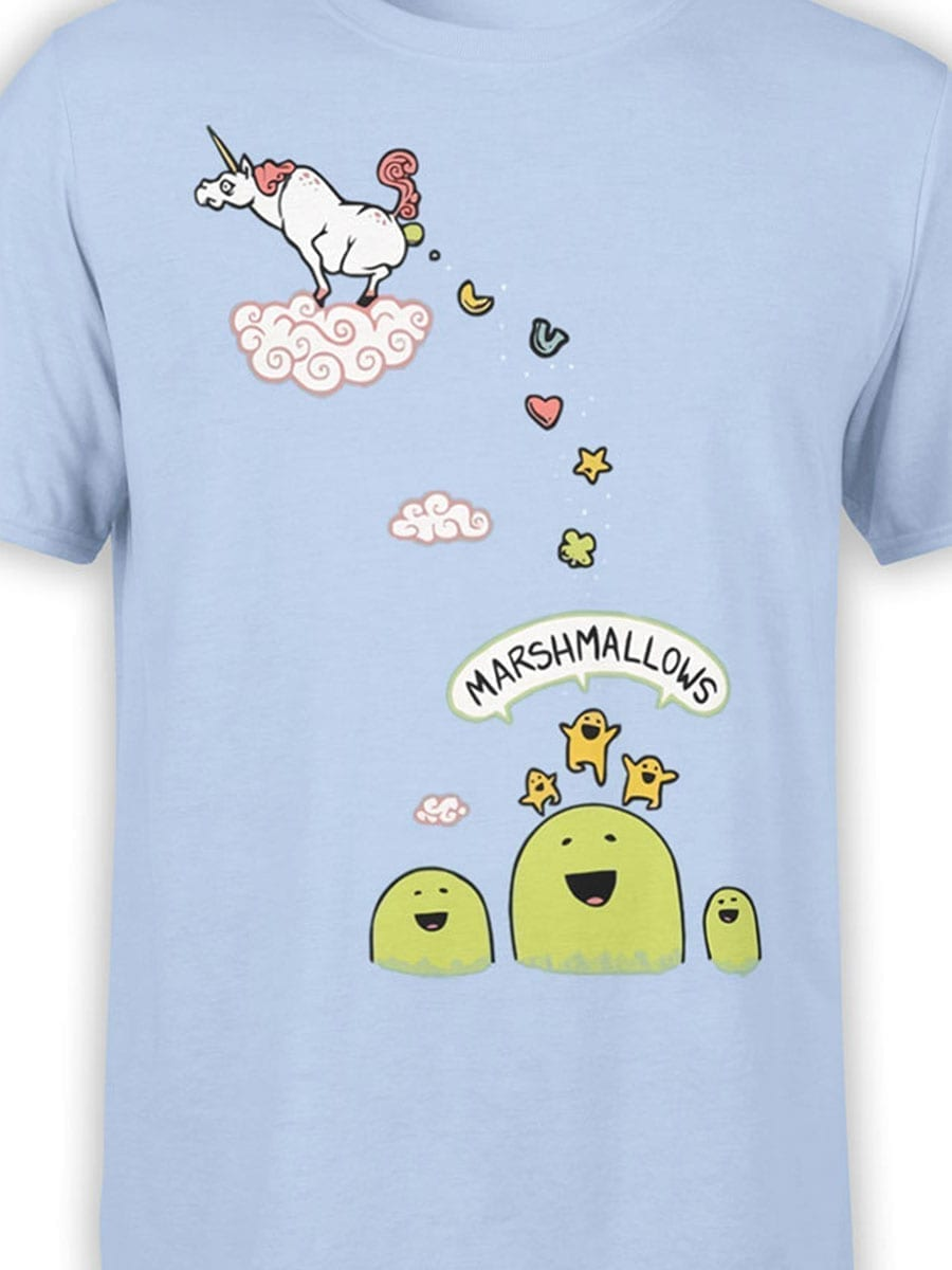 1992 Marshmallows T Shirt Front Color