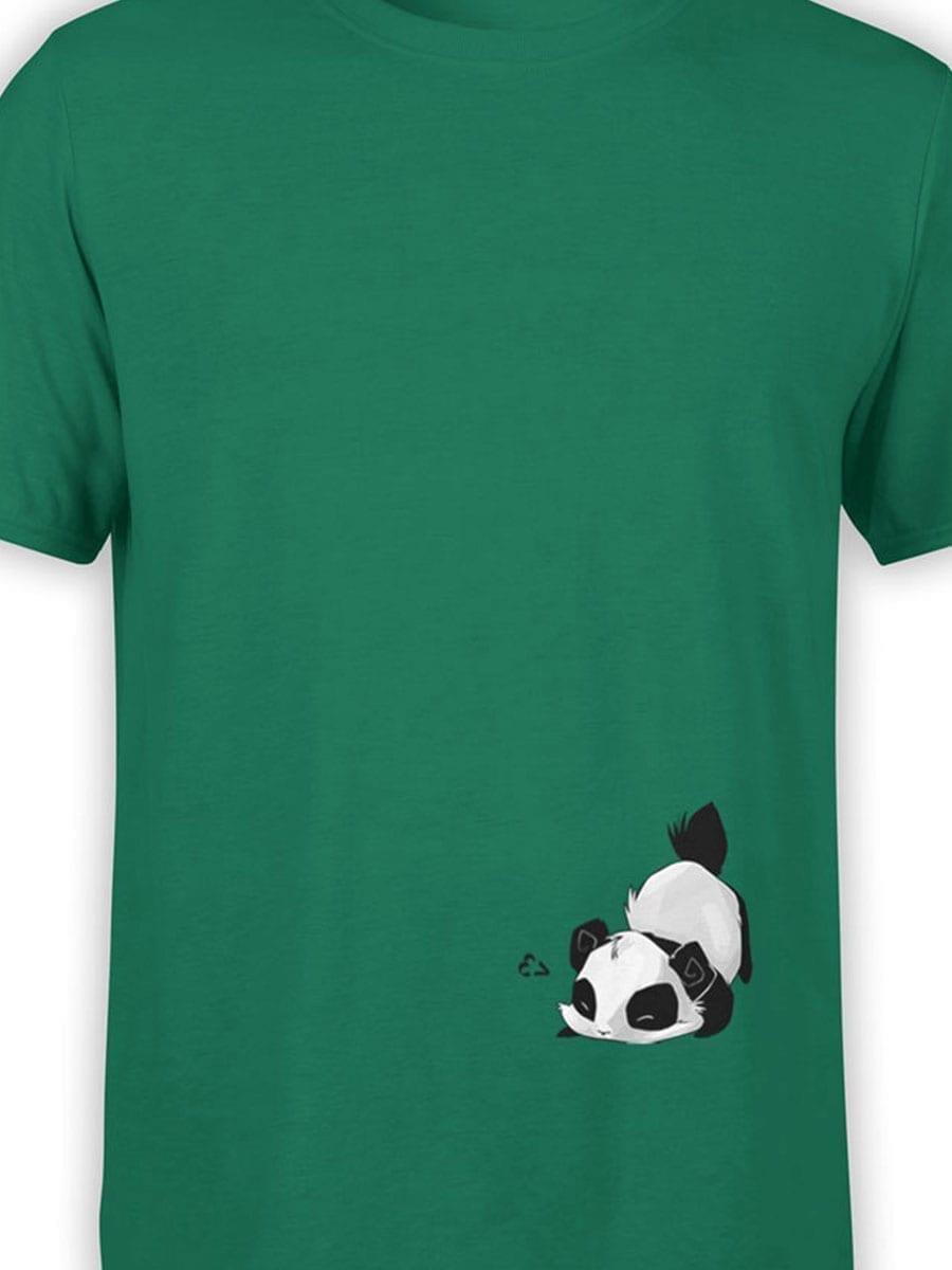 1994 Cute Panda T Shirt Front Color