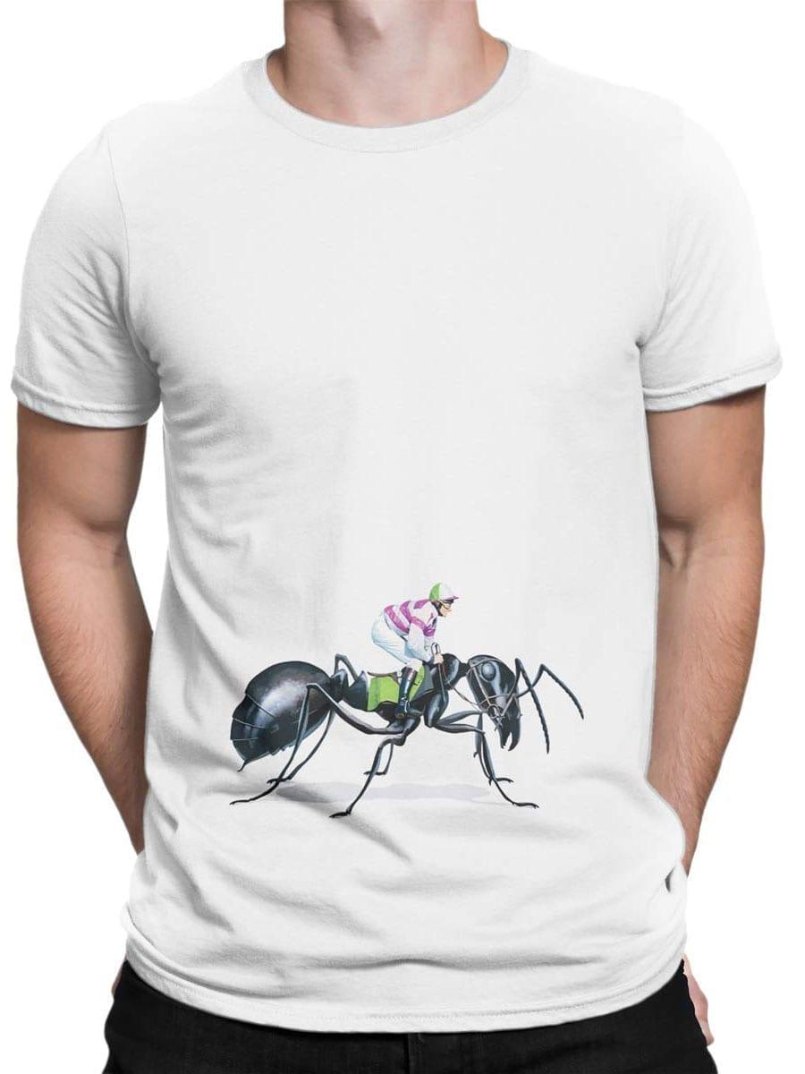 2000 Ant Jockey T Shirt Front Man