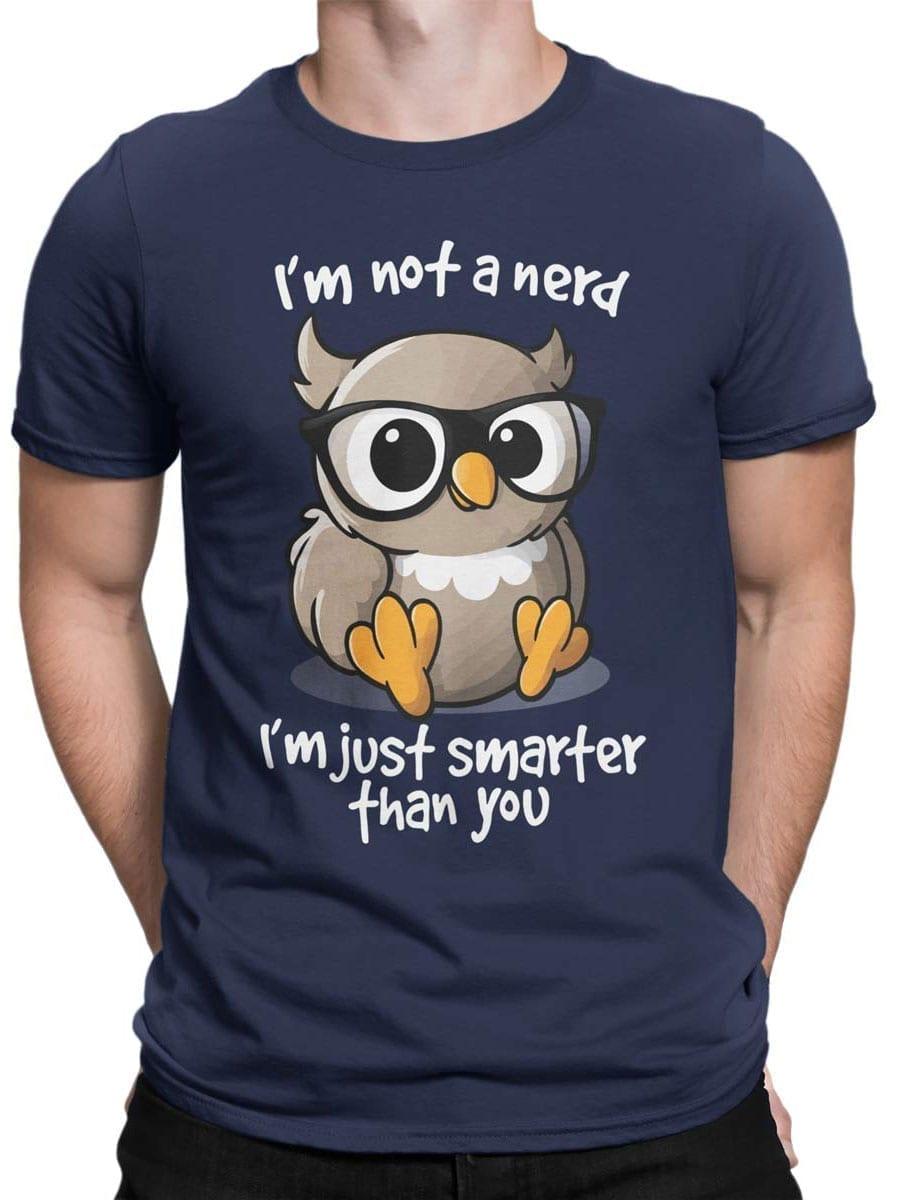 2007 Nerd Owlet T Shirt Front Man