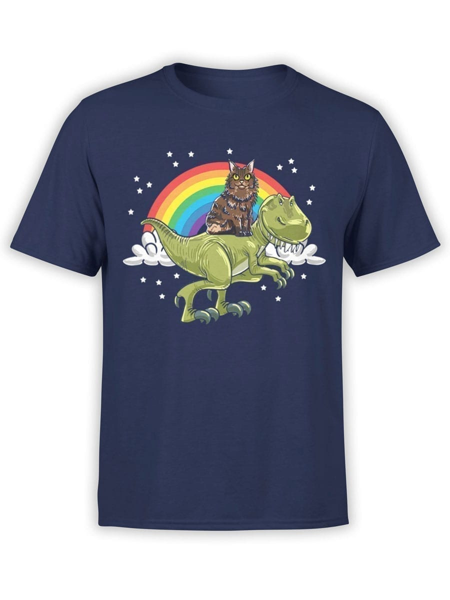 2009 Cat and Dino T Shirt Front