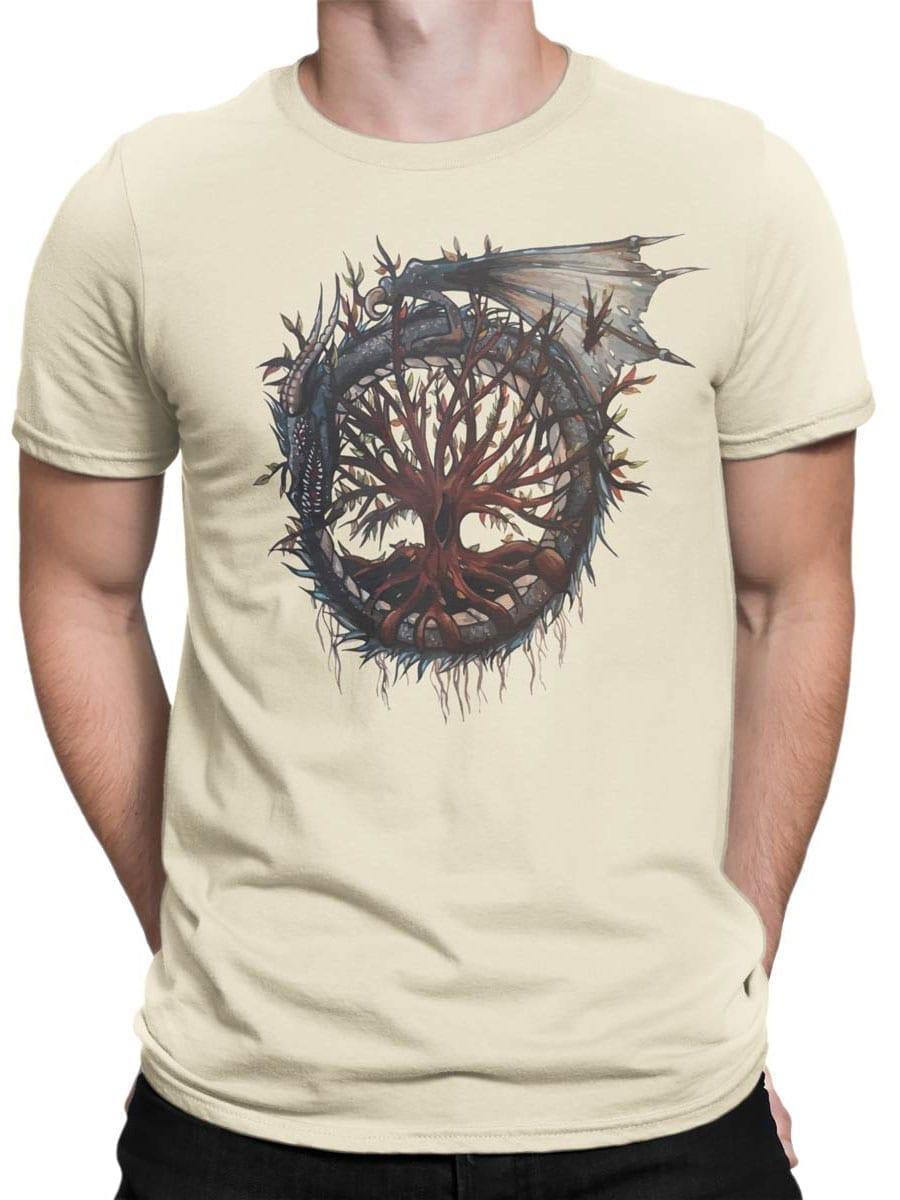 2010 Dragon Tree T Shirt Front Man