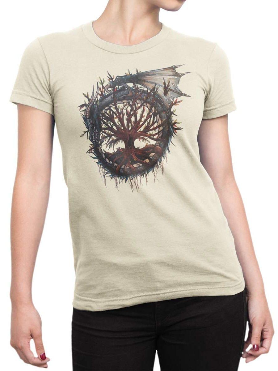 2010 Dragon Tree T Shirt Front Woman