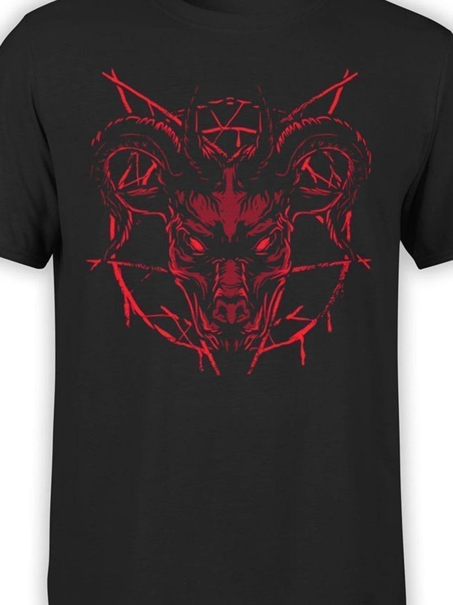 2013 Devil T Shirt Front Color