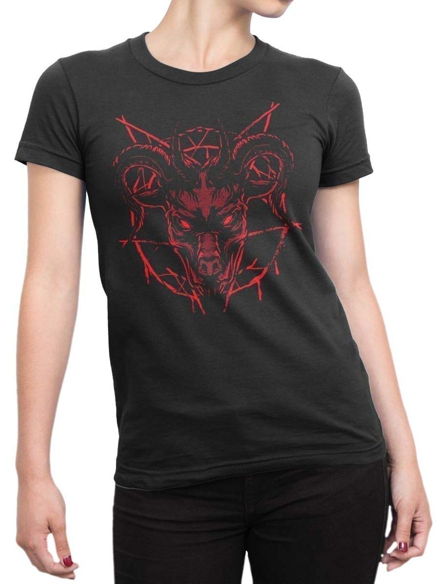 2013 Devil T Shirt Front Woman