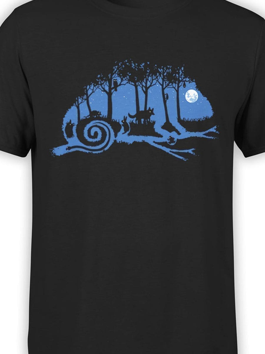 2014 Chameleon Night T Shirt Front Color