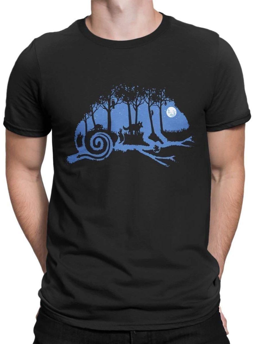 2014 Chameleon Night T Shirt Front Man
