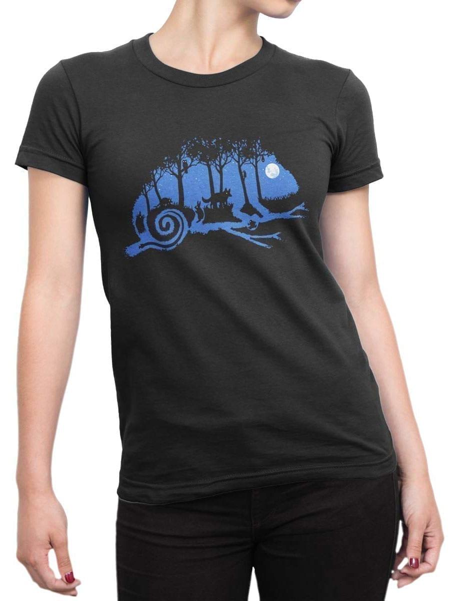 2014 Chameleon Night T Shirt Front Woman