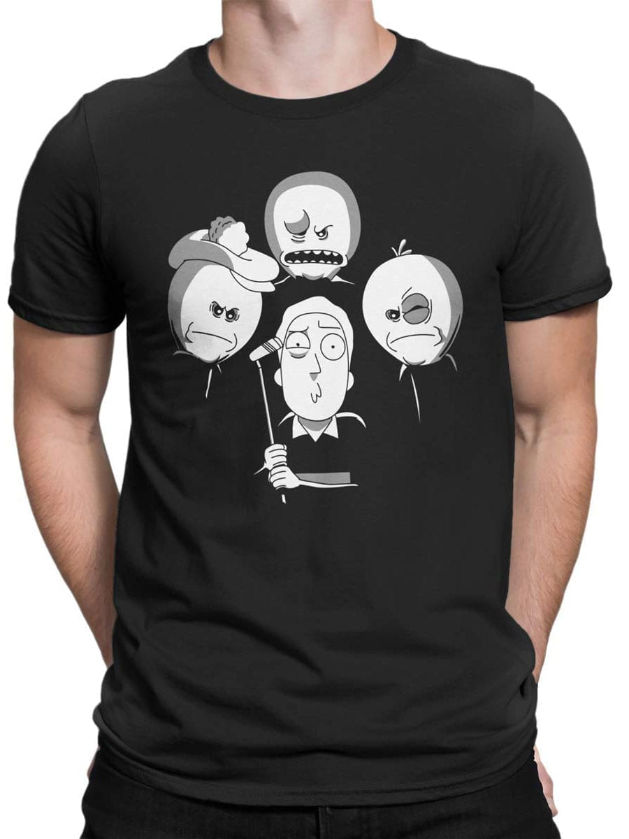 2017 Angry Meeseeks T Shirt Front Man