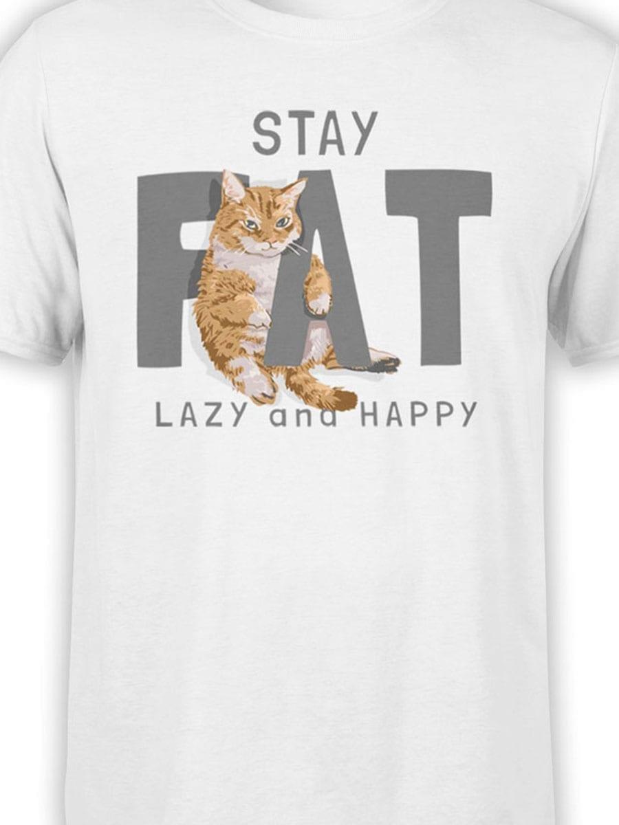 2019 Fat Cat T Shirt Front Color