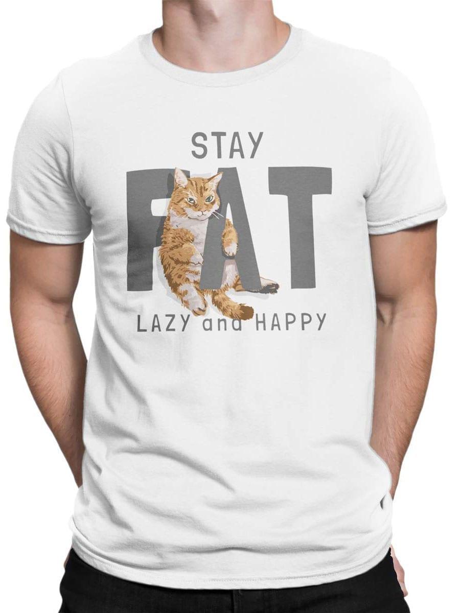 2019 Fat Cat T Shirt Front Man