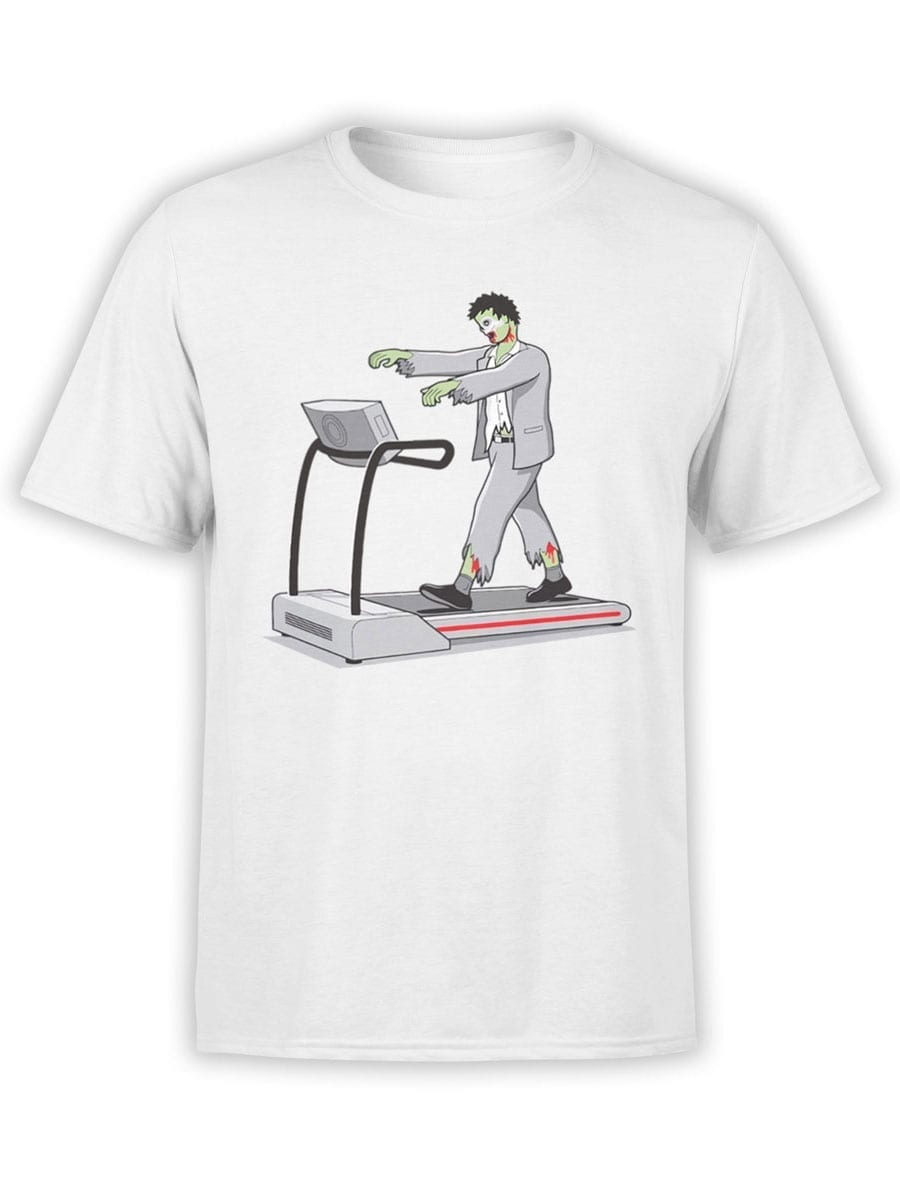 2020 Fitness Zombie T Shirt Front