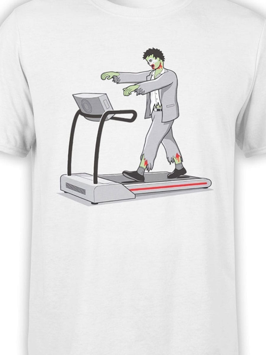 2020 Fitness Zombie T Shirt Front Color