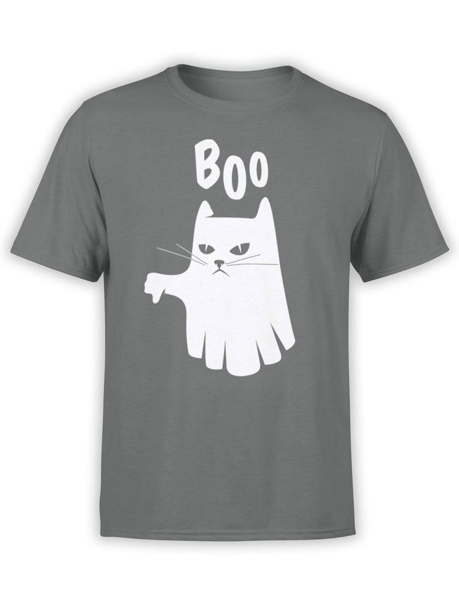 2022 Boo Cat T Shirt Front