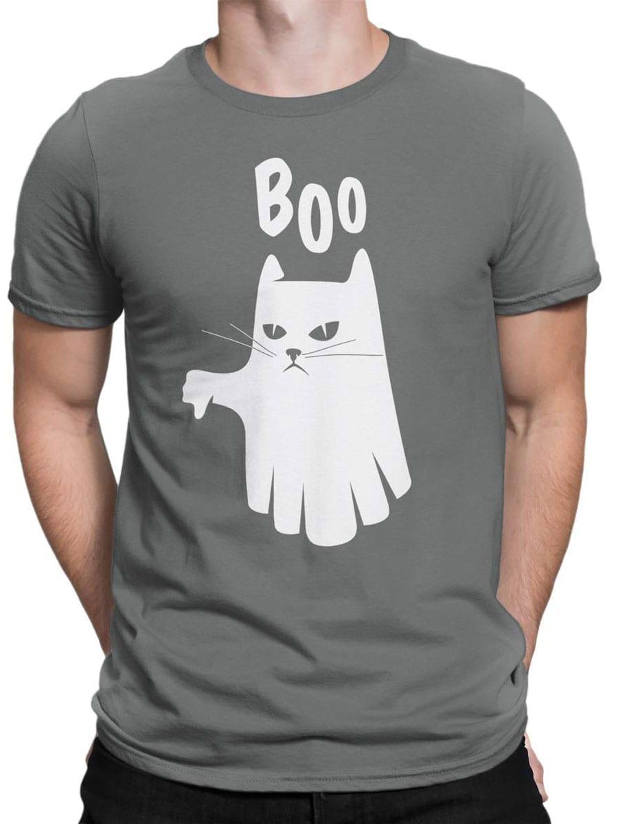 2022 Boo Cat T Shirt Front Man