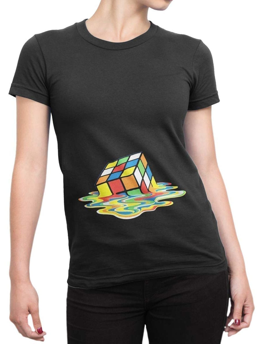 2024 Melted T Shirt Front Woman