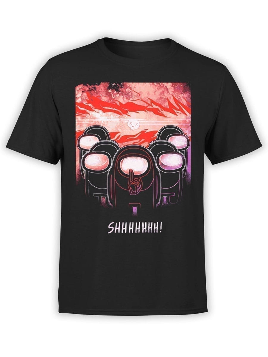 2025 Shhhhhh T Shirt Front