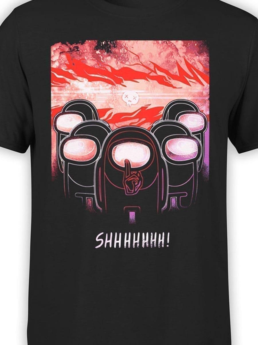 2025 Shhhhhh T Shirt Front Color