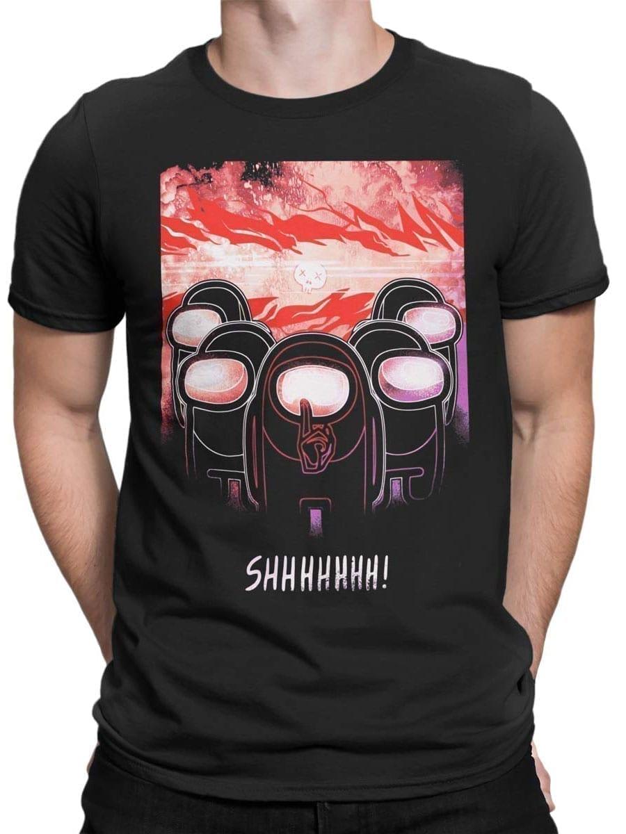 2025 Shhhhhh T Shirt Front Man