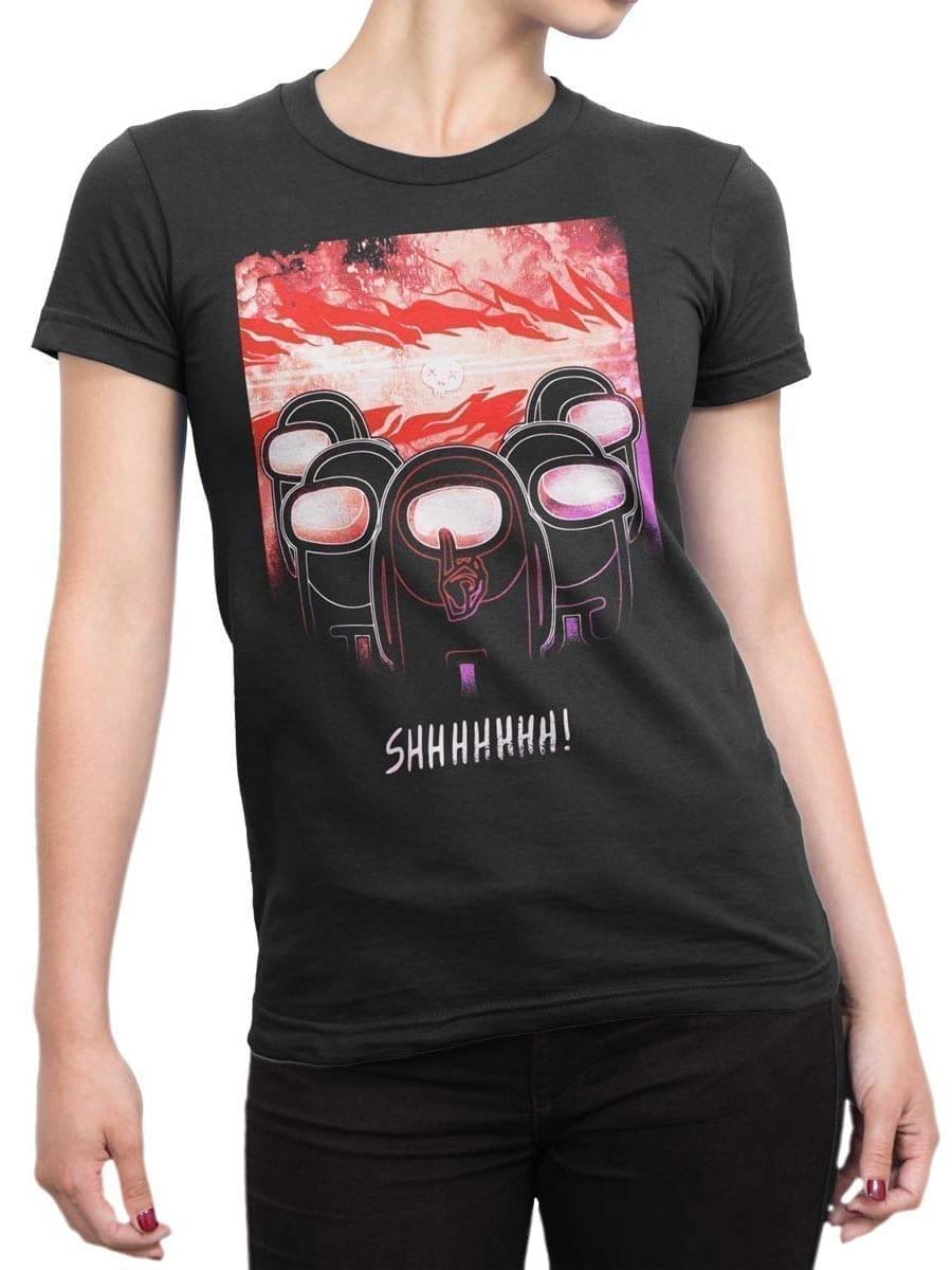 2025 Shhhhhh T Shirt Front Woman