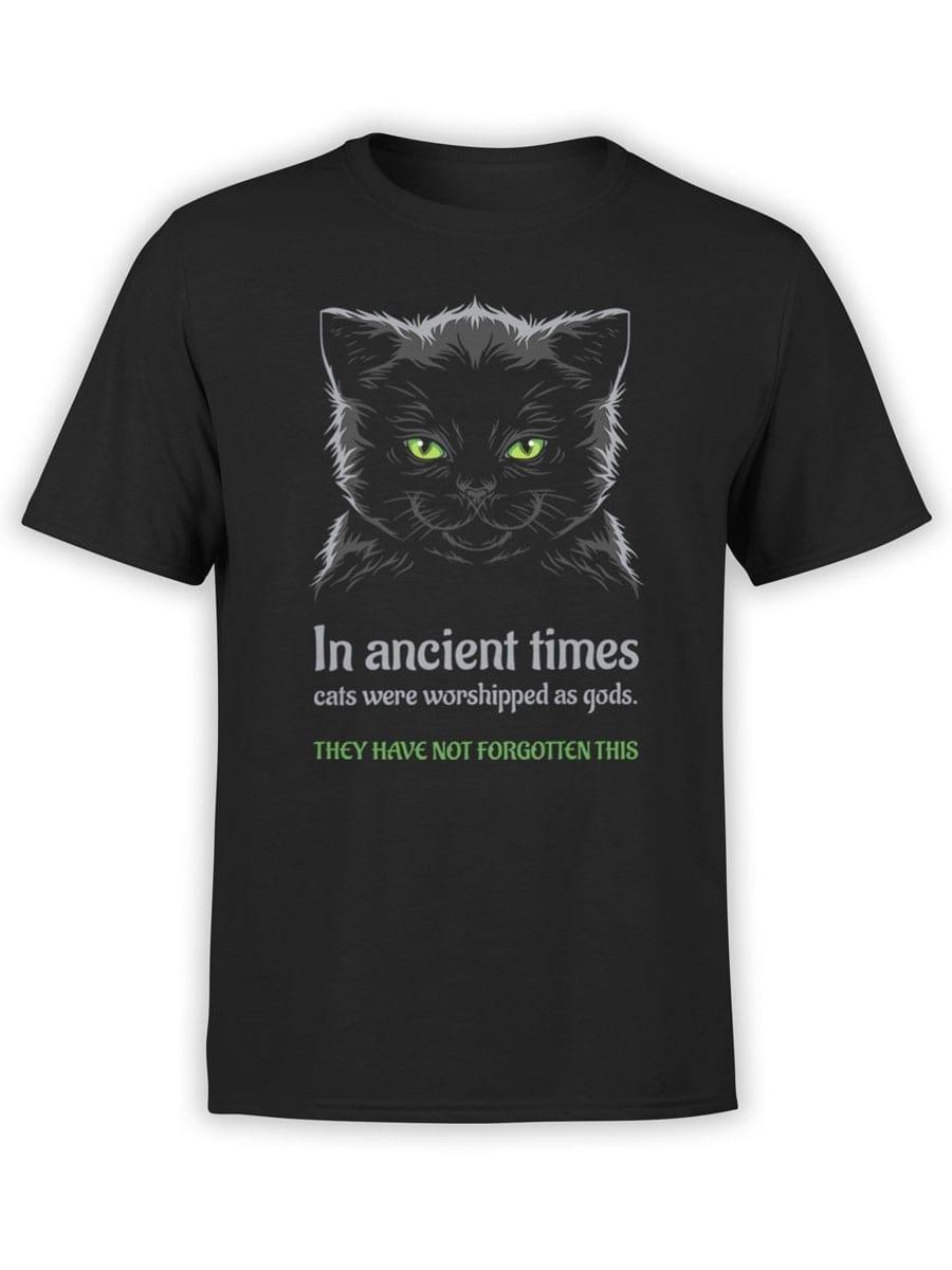 2026 Ancient Cats T Shirt Front