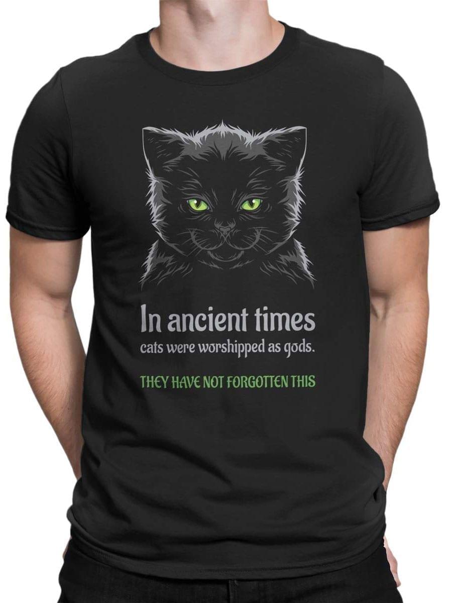 2026 Ancient Cats T Shirt Front Man