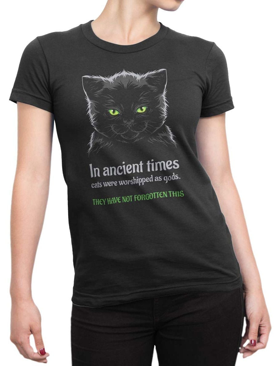 2026 Ancient Cats T Shirt Front Woman