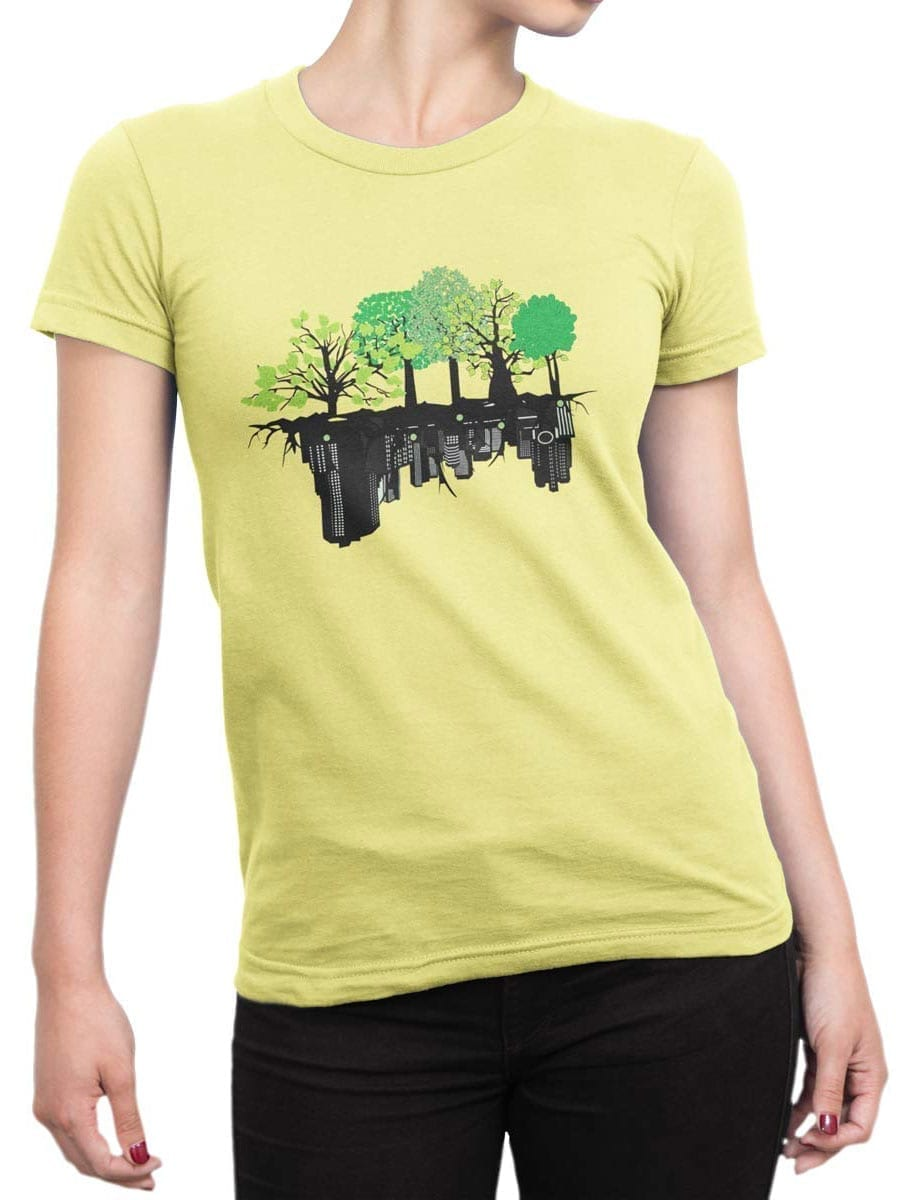 2027 Mirror T Shirt Front Woman