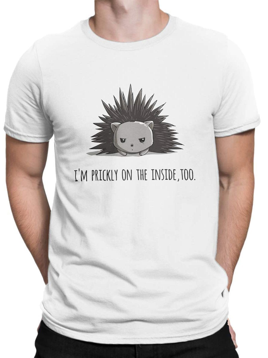 2028 Prickly T Shirt Front Man