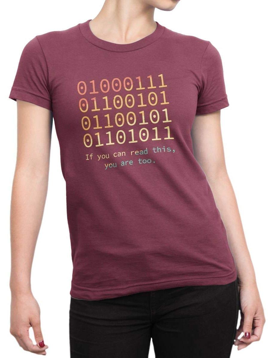 2029 Nerd T Shirt Front Woman