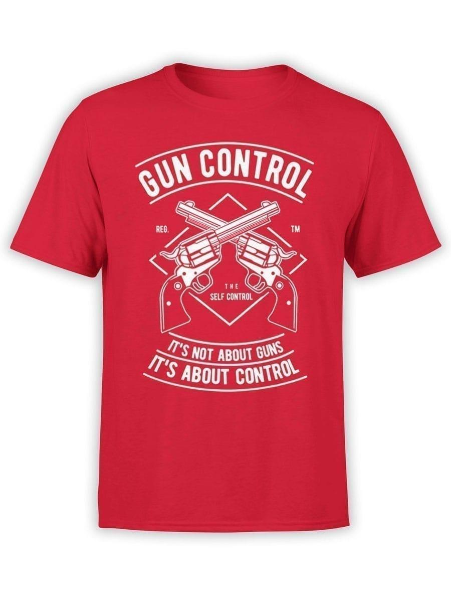2031 Gun Control T Shirt Front