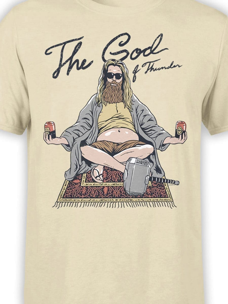 2032 Thor Lebowski T Shirt Front Color