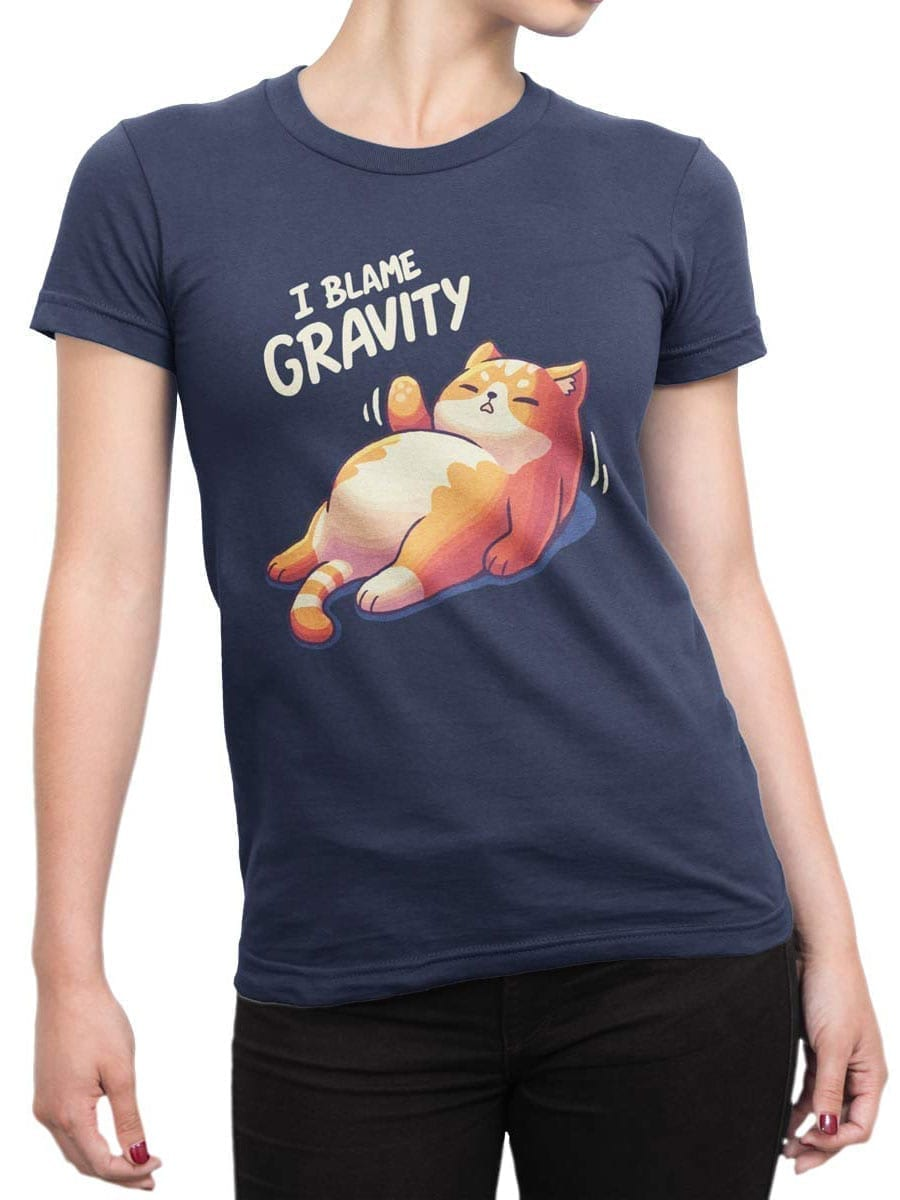 2033 Gravity T Shirt Front Woman