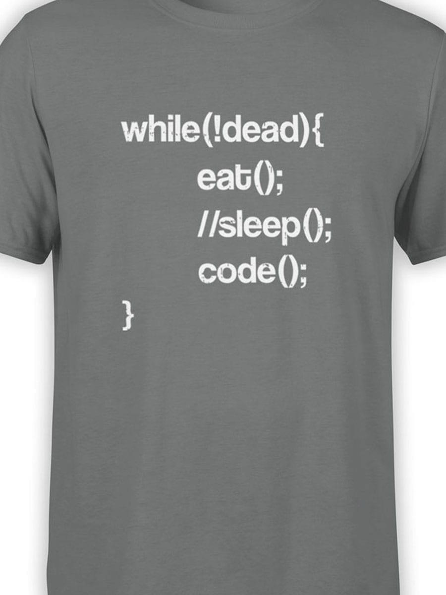 2035 Programmer T Shirt Front Color