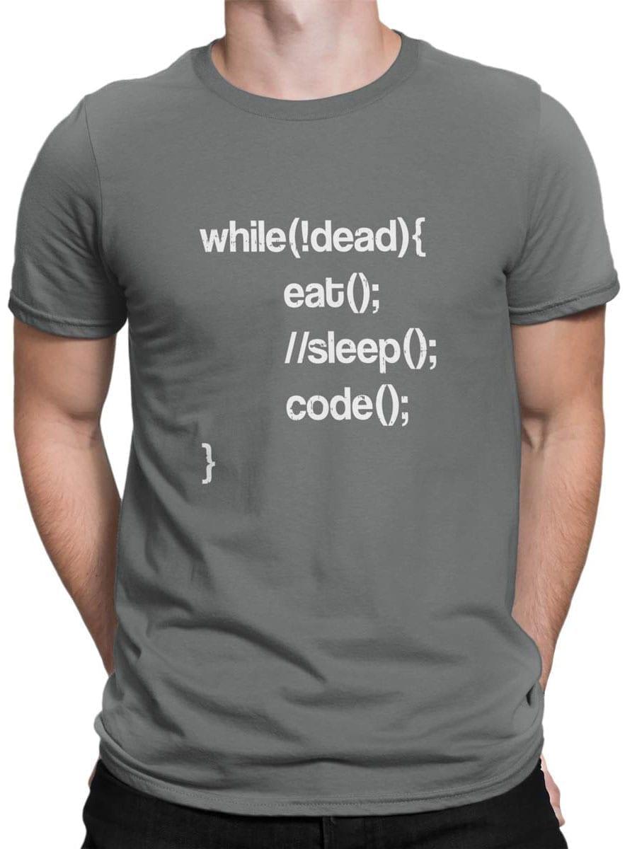 2035 Programmer T Shirt Front Man