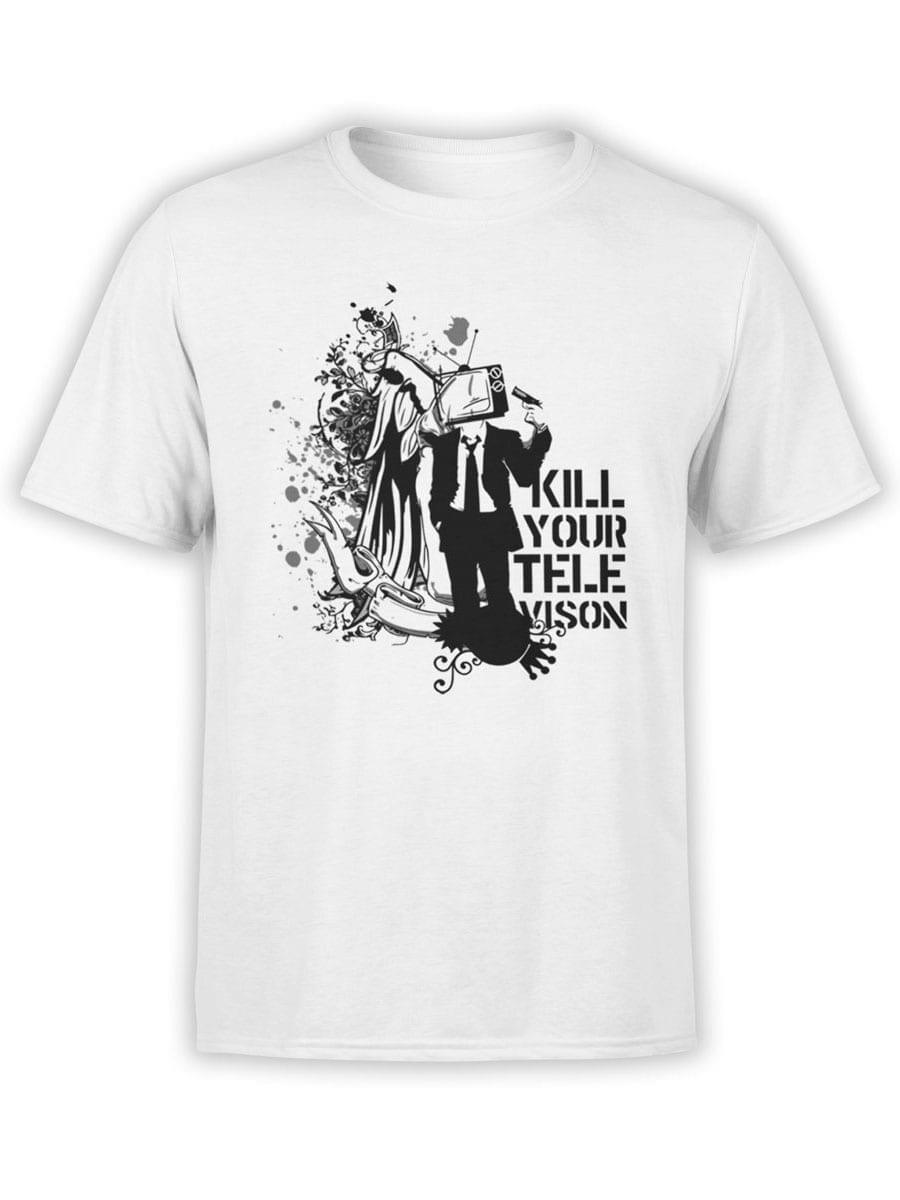 2036 Televison T Shirt Front