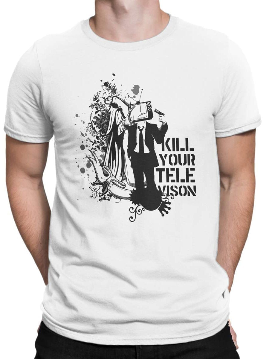 2036 Televison T Shirt Front Man