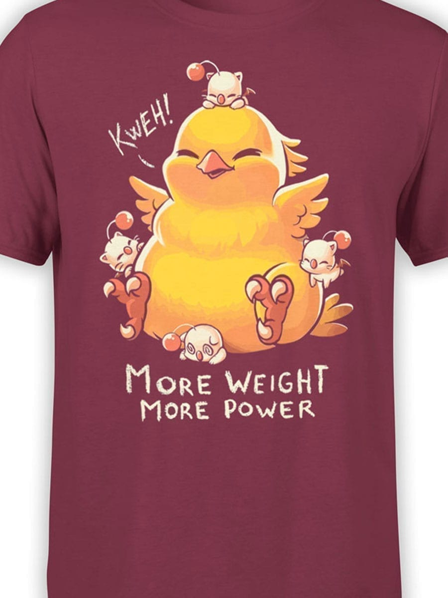 2037 Weight and Power T Shirt Front Color