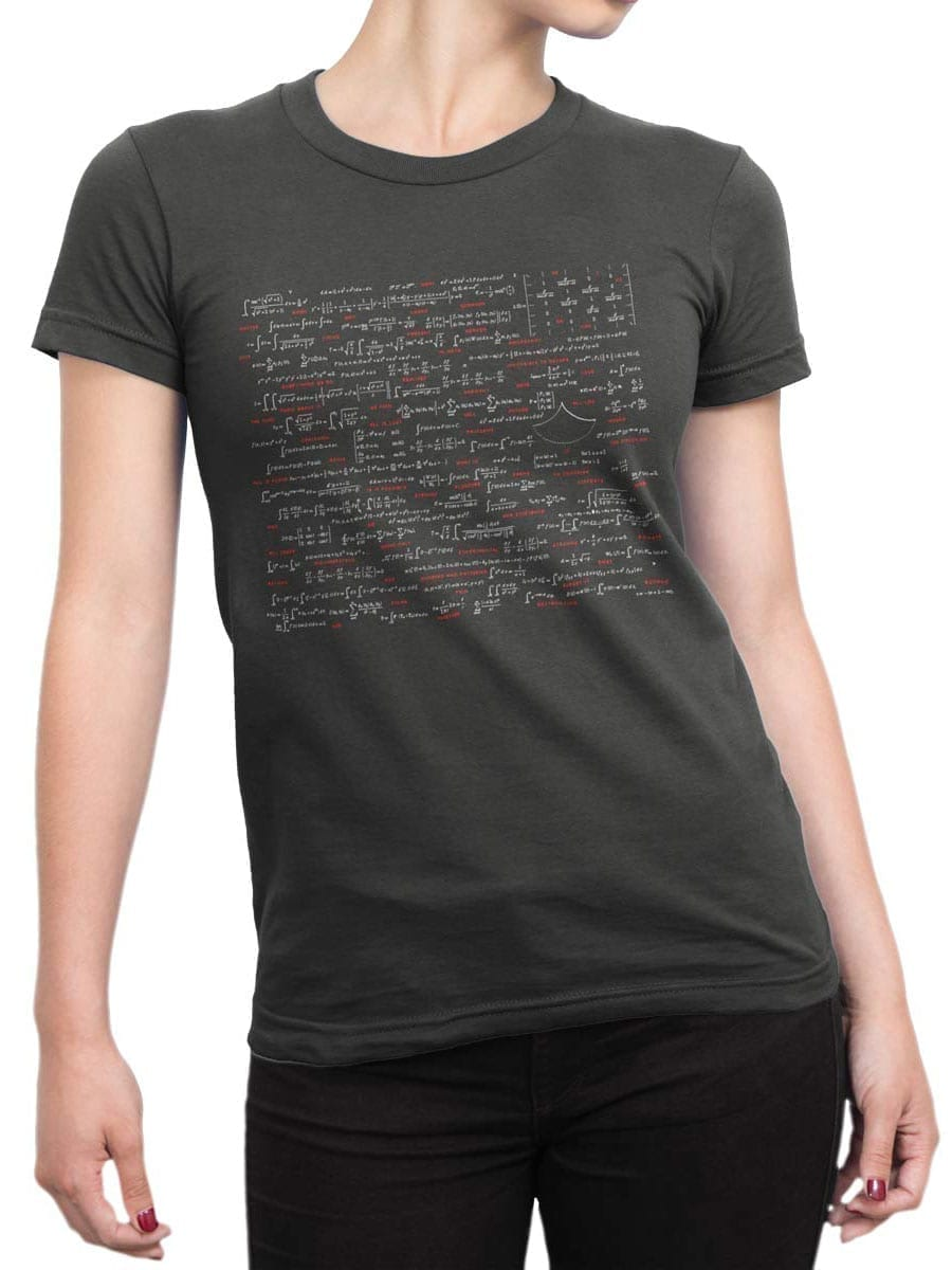 2038 Math T Shirt Front Woman