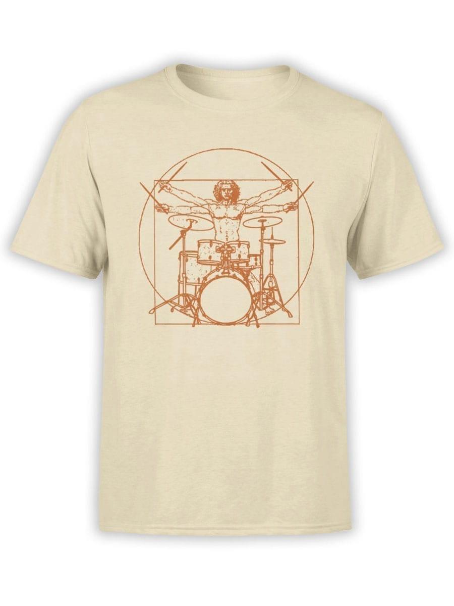 2042 Vitruvian Drumm T Shirt Front