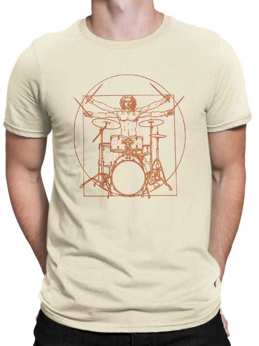 2042 Vitruvian Drumm T Shirt Front Man