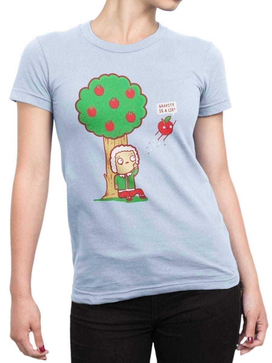 2044 Gravity T Shirt Front Woman