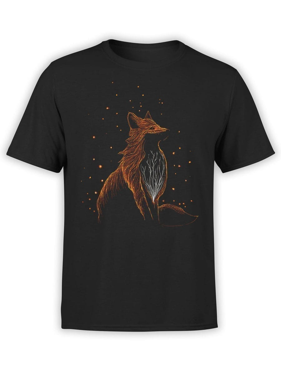 2045 Cosmo Fox T Shirt Front
