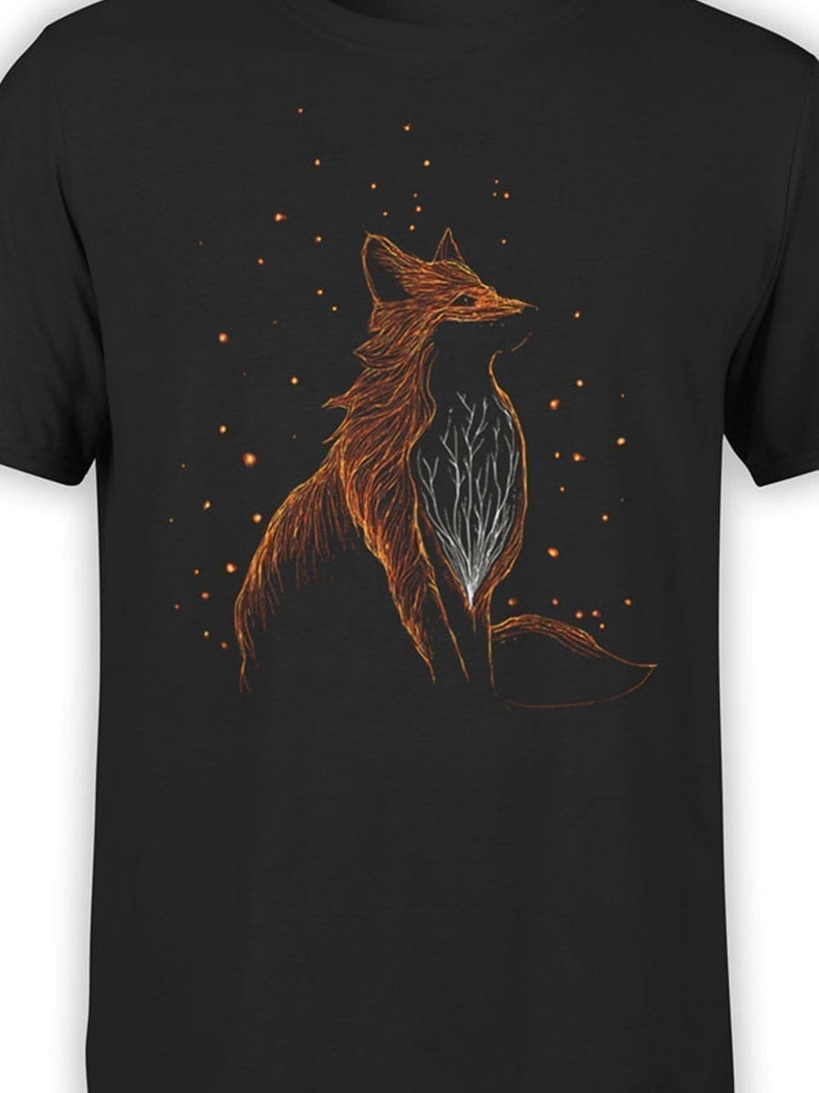 2045 Cosmo Fox T Shirt Front Color