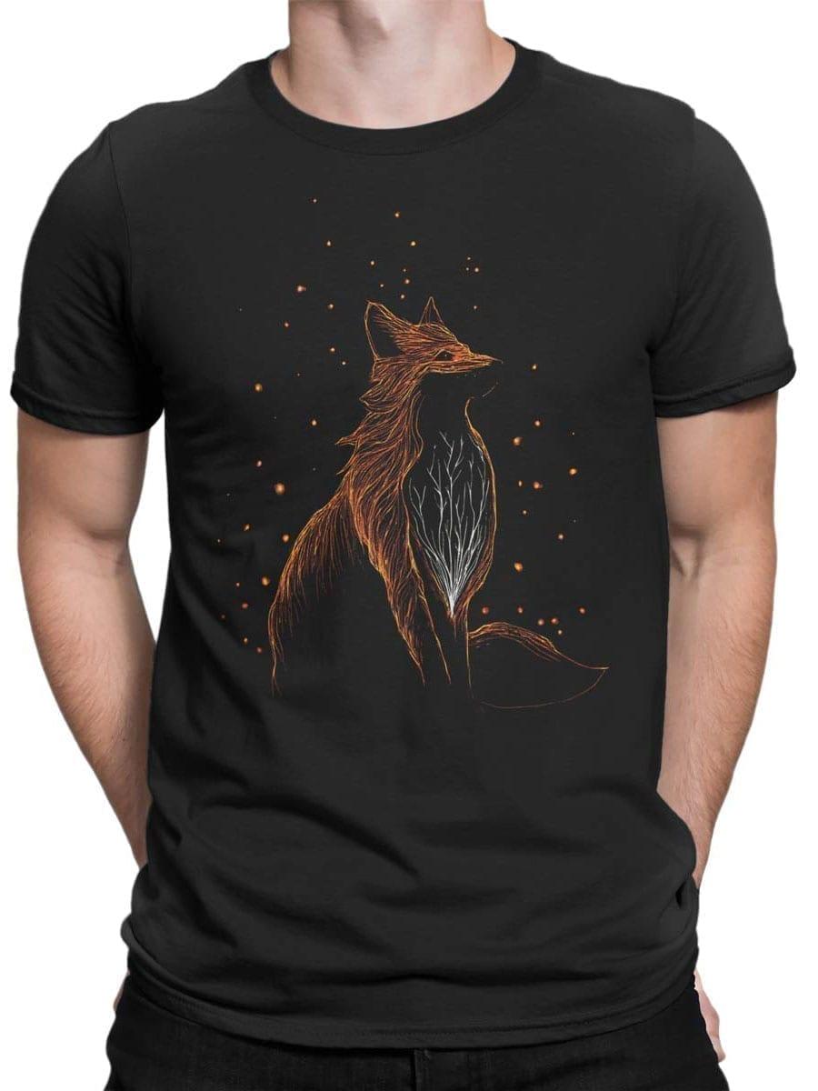 2045 Cosmo Fox T Shirt Front Man