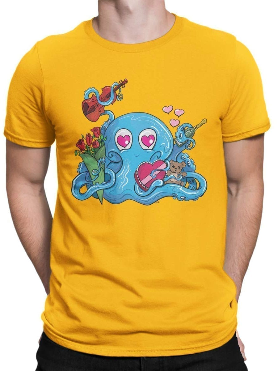 2048 Romantopus T Shirt Front Man