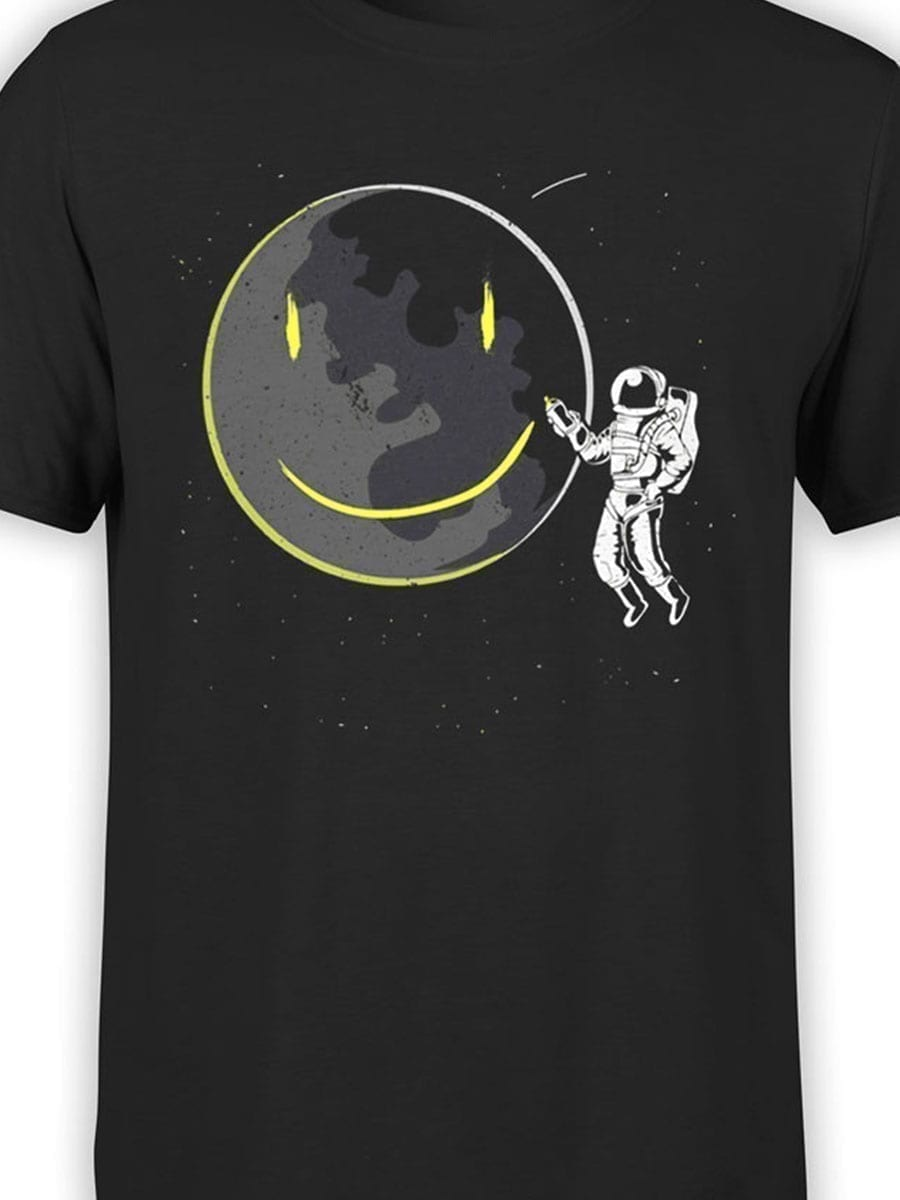 2049 Cosmo Smile T Shirt Front Color