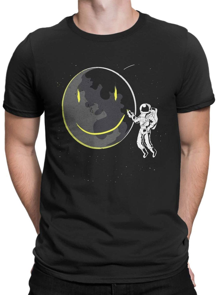 2049 Cosmo Smile T Shirt Front Man